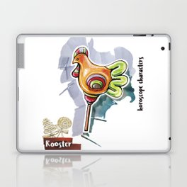 Rooster Horoscope Laptop & iPad Skin