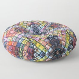 Refractions Reflected Floor Pillow