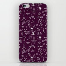 No Refunds iPhone & iPod Skin