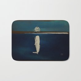 The White Whale Bath Mat