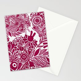 Love from the heart - The right way of life is love 愛由心生 - 愛了就對了 Stationery Cards