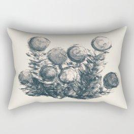 Framed Sketches - Undergrowth: Berries Rectangular Pillow