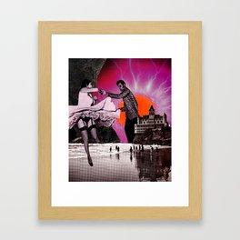 Dance Lesson  Framed Art Print