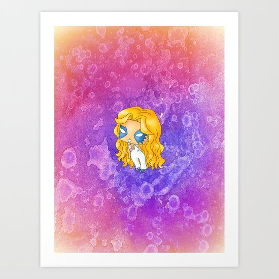Chibi Dazzler Art Print