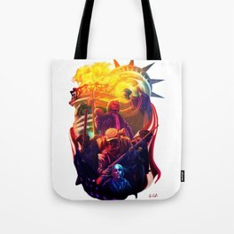 An American Portrait Tote Bag