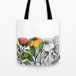 First summer blooms Tote Bag