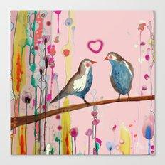 valentine et valentin Canvas Print
