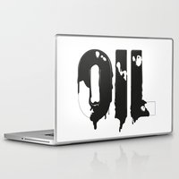 oil Laptop & iPad Skins featuring Oil by UP studio