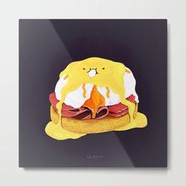 Egg Benedict Metal Print