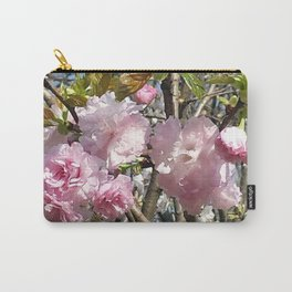 Peonies in Kawasaki Carry-All Pouch
