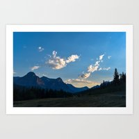 Cut Bank, Montana  Art Print