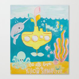 Yellow Submarine Canvas Print