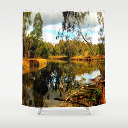 Reflective Light Shower Curtain