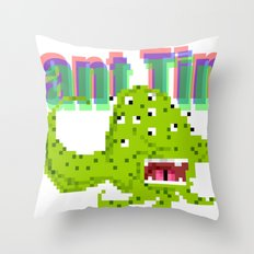 Mutant Times Throw Pillow