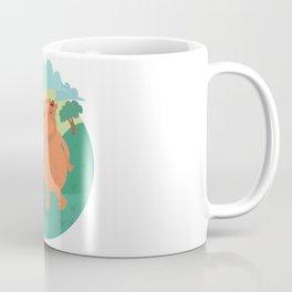Bear-ther & son, piggy back time Coffee Mug
