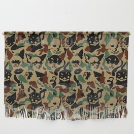 Chihuahua Camouflage Wall Hanging