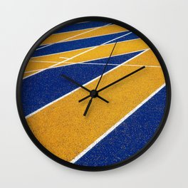 On Track  Wall Clock