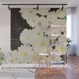Midnight Blossoms Wall Mural