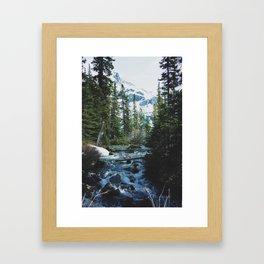 joffre lakes (7) Framed Art Print