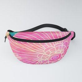 Floral Pattern 11 Fanny Pack