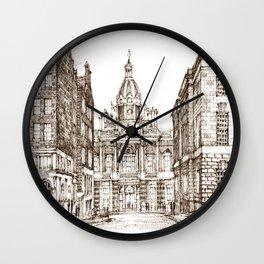 Sketch endib Wall Clock