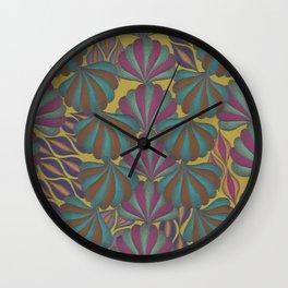 Mushroom Coral Wall Clock