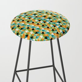 Scandy Triangles Bar Stool