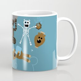 Crazy MonkeyTeddyBears Coffee Mug