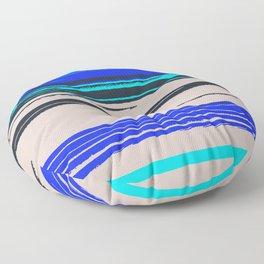 At the Beach Floor Pillow