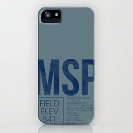 MSP iPhone Case