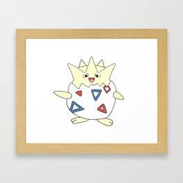 Togepi Framed Art Print