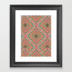 Mya Pink Framed Art Print