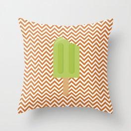 Sorvete 6 Throw Pillow
