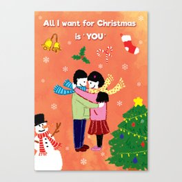 All I Want for Christmas Canvas Print