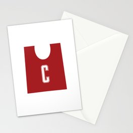 Netball C Stationery Cards