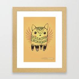Jelly Fox Framed Art Print