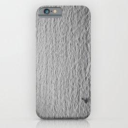 man sea black white iPhone Case