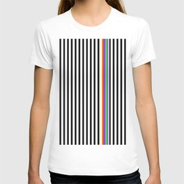 BW Rainbow Stripe T-shirt