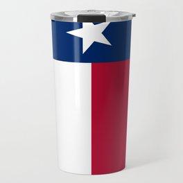 State flag of Texas, banner version Travel Mug