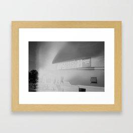 Igloo Drive-In Framed Art Print