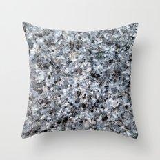 Granite mineral Throw Pillow