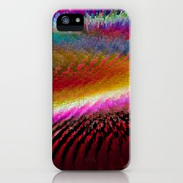 Colour in Waves iPhone Case