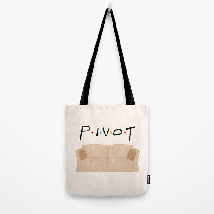 Pivot - Friends Tribute Tote Bag