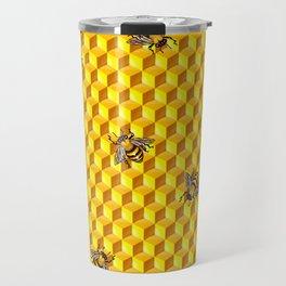 Bee Gold Travel Mug