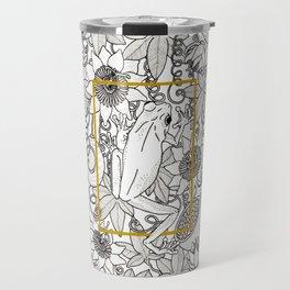 Tree Frog and passion vines Travel Mug