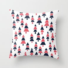 Forrest Pattern Throw Pillow