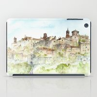 italy iPad Cases featuring Lucignano, Italy by zawij