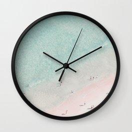 beach - summer of love III Wall Clock