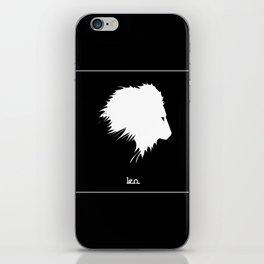 Leo ~ Zodiac series iPhone Skin