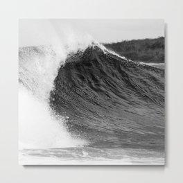Galapagos Wave B&N Metal Print